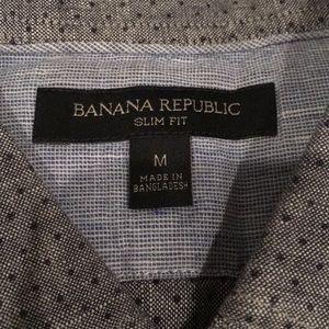 Banana Republic Shirts - Banana Republic button down shirt, slim fit